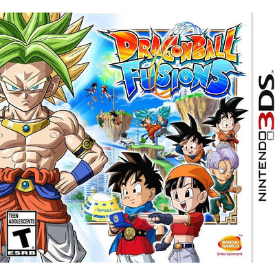 DRAGON BALL FUSIONS FOR NINTENDO 3DS (NTSC)