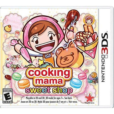COOKING MAMA SWEET SHOP Nintendo 3DS by Rising Star Games