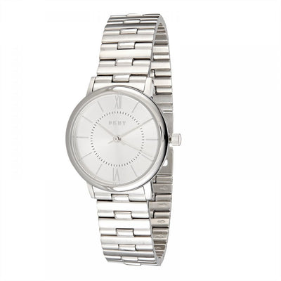 DKNY Women's Silver Dial Stainless Steel Band Watch - NY2547