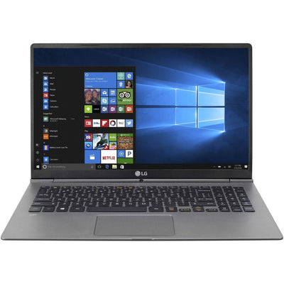 LG GRAM 15Z970-T-AA52E1 Laptop - Intel Core i5-7200U, 15.6-Inch FHD IPS, 256GB, 8GB, English-KB, Windows 10, Silver