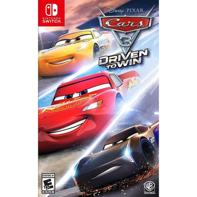 CARS 3 DRIVEN TO WIN Nintendo Switch by Disney