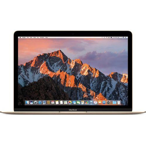Latest Apple MacBook MNYK2 Laptop - Intel Core m3, 1.2Ghz Dual Core, 12-Inch Retina, 256GB SSD, 8GB, English Keyboard, Mac OS Sierra, Gold - International Version