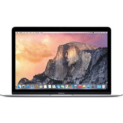 Apple MacBook Laptop - Intel Core M, 1.2 GHz Dual Core, 12 Inch, 512GB, 8GB, Silver, Eng - Russian Keyboard, Early 2015, MF865RS/A