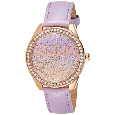 Guess Glitter Girl Women's Multi Color Dial Stainless Steel Band Watch - W0823L11