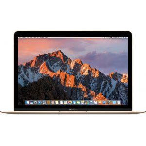 Latest Apple MacBook MNYK2 Laptop - Intel Core m3, 1.2Ghz Dual Core, 12-Inch Retina, 256GB SSD, 8GB, English-Arabic Keyboard, Mac OS Sierra, Gold - Middle East Version