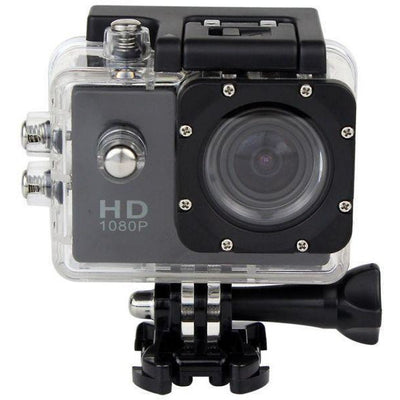 Perfect Awesome Nice Black Color Sport Action Camera Diving Full HD DVR 30M Waterproof 1080P G Senor