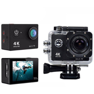 4K Underwater Sport Camera with Wifi & All Accessories.