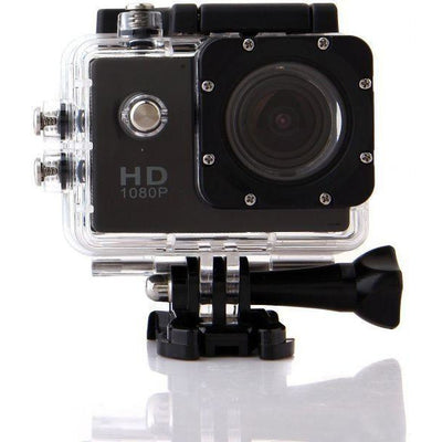 Ultra Full HD 1080P Waterproof 30m Action Camcorder Sport Camera (Black)