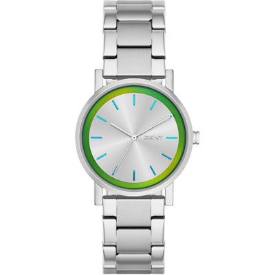 DKNY Women's Silver Dial Stainless Steel Band Watch - NY2319