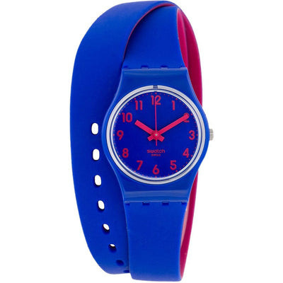 Swatch Casual Watch For Women Analog Rubber - LS115