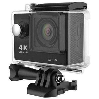 Black 4K Ultra HD 1080P WiFi Action Camera Camcorder Sports DV Video Recorder 30M Waterproof