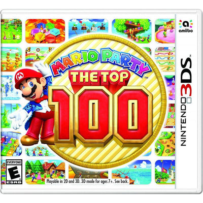 MARIO PARTY THE TOP 100 (3DS NTSC) Nintendo 3DS by Nintendo