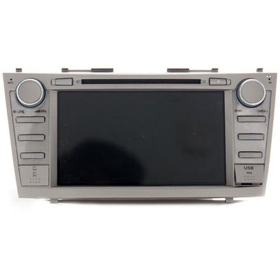 X3 DOUBLE DIN CAR DVD PLAYER WITH GPS NAVIGATION FOR CAMRY WITH MAGIC BOX CAR SEAT ORGANIZER