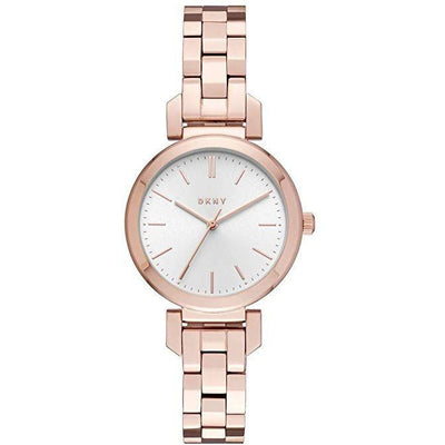 DKNY White Dial Stainless Steel Band Watch - NY2592