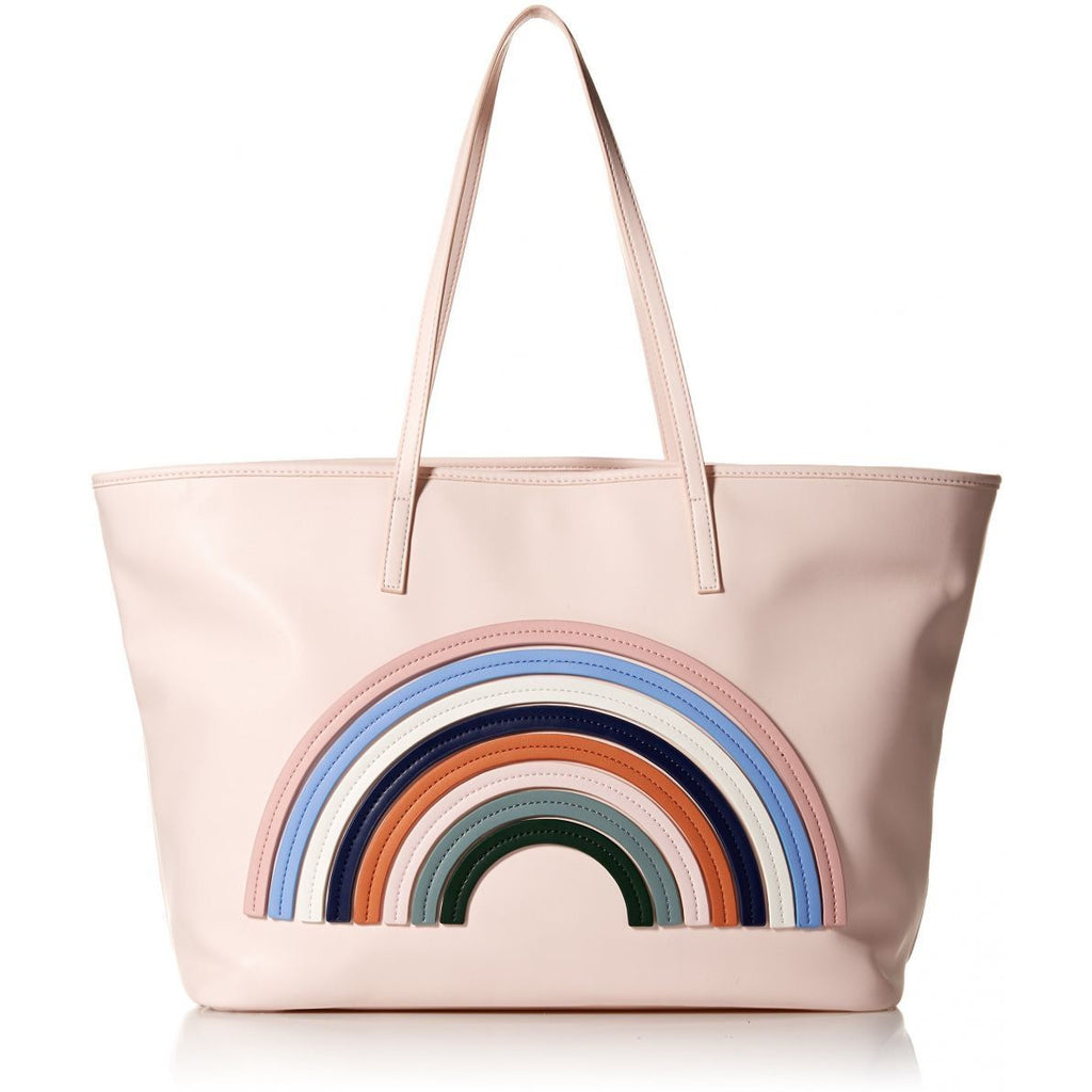 a7689cd08 Dear Drew by Drew Barrymore on the Go Petit Vegan Leather Rainbow Tote Bag,  Tapshoe