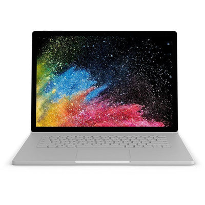 Microsoft Surface Book 2 2-in-1 Laptop-Intel Core i7-8650U, 13.5-Inch Touch, 256GB SSD, 8GB, 2GB VGA-GTX1050, Eng-Arb-KB, Windows 10 Pro, Silver