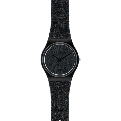 Swatch Casual Watch For Women Analog Leather - GZ254