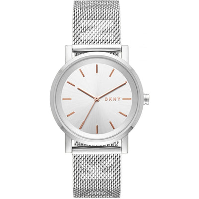 DKNY Women's Silver Dial Stainless Steel Band Watch - NY2620