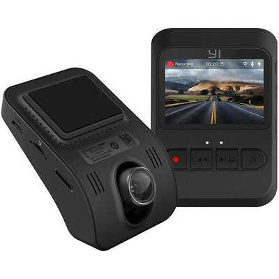 YI Mini Dash Cam Dashboard Video Recorder 1080p FHD Wi-Fi with Wide-angle, Night Vision, G-Sensor