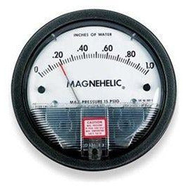 Dwyer 2000-0 Magnehelic Differential Pressure Gauge, 2000: 0-0.5