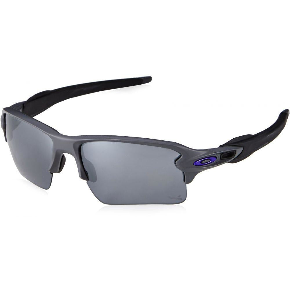 e891239e21 Oakley Men s Flak 2.0 Xl Non-Polarized Iridium Rectangular Sunglasses