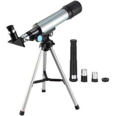 Telescope Travel Scope 90 X Refractor Telescope Astronomy Telescope Tabletop Nature Exploration Toys for Kids Adults Sky Star Gazing Birds Watching