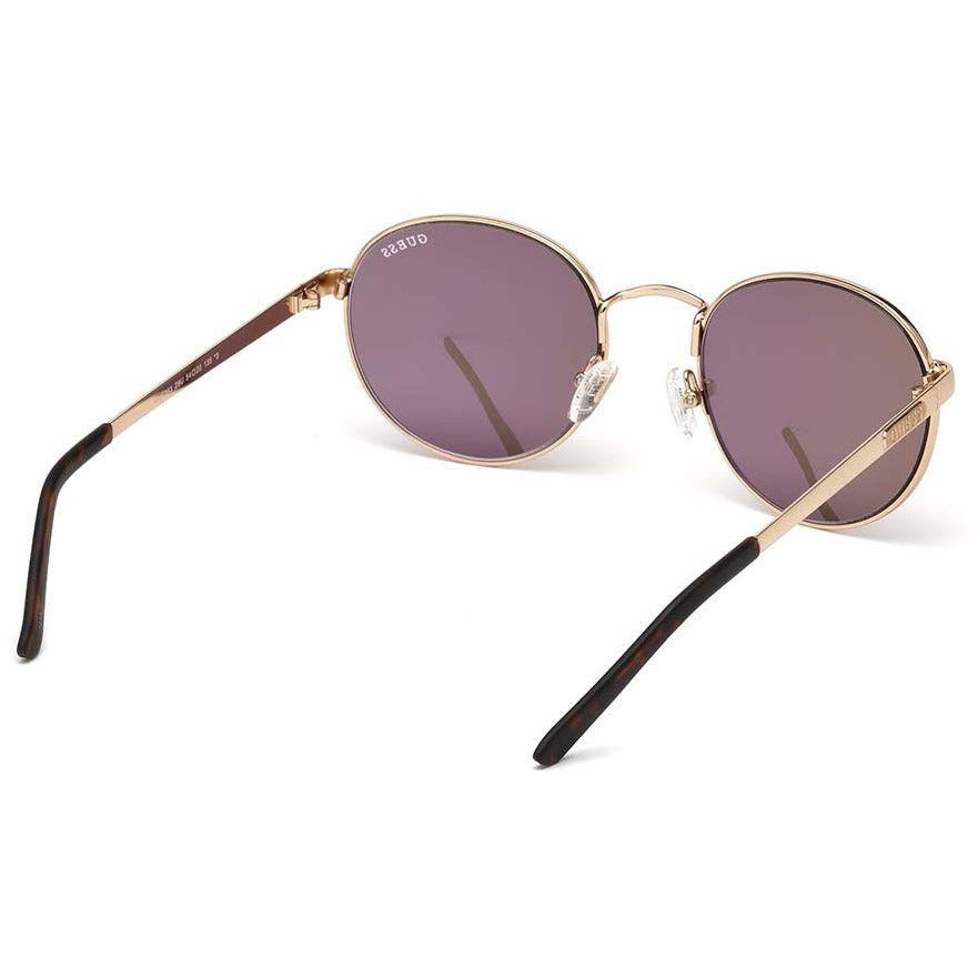68e51b8957ee5 Guess Round Sunglasses for Women - Red Lens