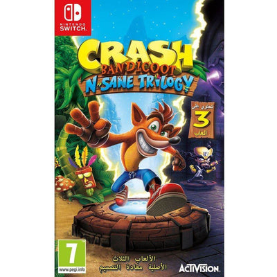 Crash Bandicoot N. Sane Trilogy Nintendo Switch by Activision