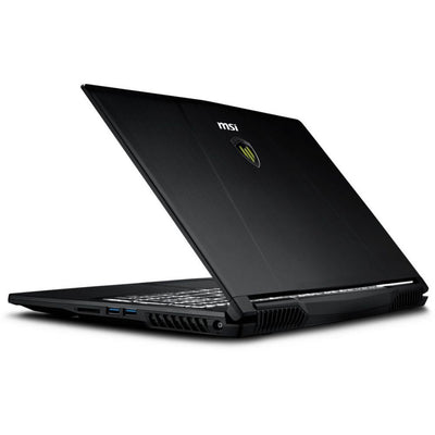 MSI WE63 8SJ Work Station Laptop - Intel Core i7-8750H, 15.6-Inch FHD, 1TB plus 256GB SSD, 16GB, 4GB VGA, Eng-Arb-KB, Windows 10 Pro, Black