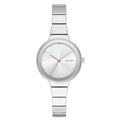 DKNY Astoria Women's White Dial Stainless Steel Watch - NY2694