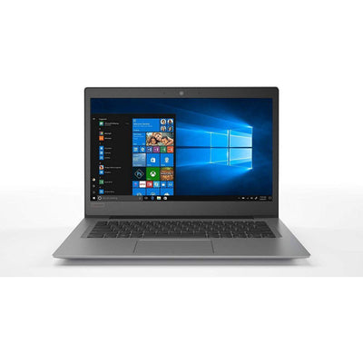 Lenovo IdeaPad 120s Laptop - Intel Celeron N3350, 14-Inch HD, 128GB SSD, 4GB, Eng-Arb-KB, Windows 10, Grey