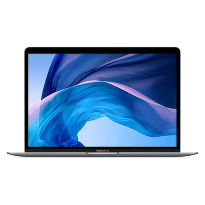 Latest Apple MacBook Air with Touch ID MRE82 Laptop - Intel Core i5-8th Gen, 13.3-Inch with Retina, 128GB SSD, 8GB, MacOS, EN-ARB Keyboard, Space Grey, Middle East Version