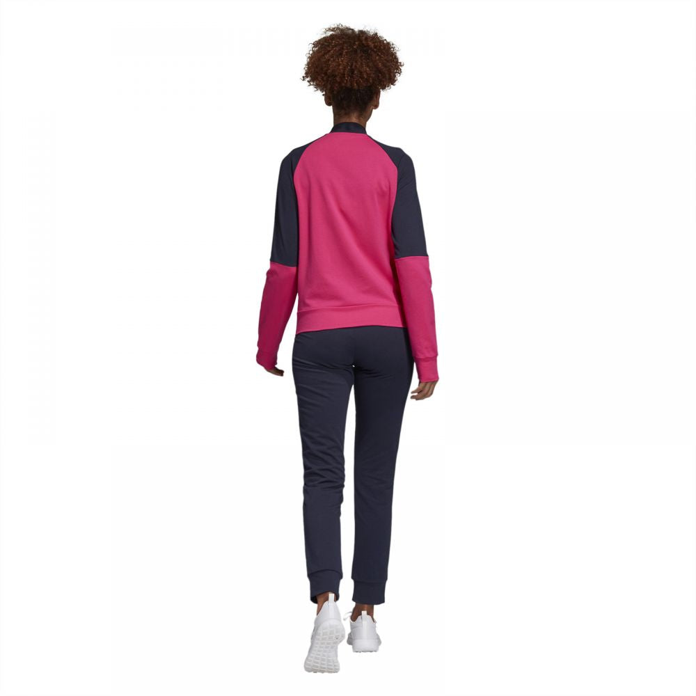 3a18ff44543 Adidas WTS CO Mark Sport Tracksuit for Women - Real Magenta/Legend Ink