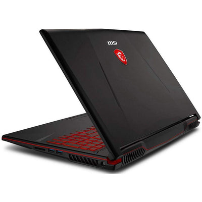 MSI GAMING GL63 8RE 8750H I7 16GB RAM 1TBHDD 128GBSS 6GVGA 1060 FHD 15,6 BLACK ENGLISH KEYBOURD