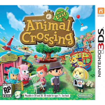 Animal Crossing: New Leaf (3DS NTSC)