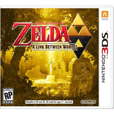 The Legend of Zelda: A Link Between Worlds (3ds NTSC)