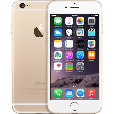 Apple iPhone 6 with FaceTime - 128GB, 4G LTE, Gold