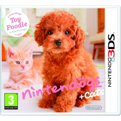 Nintendogs Cats - Toy Poodle New Friends (Nintendo 3DS)