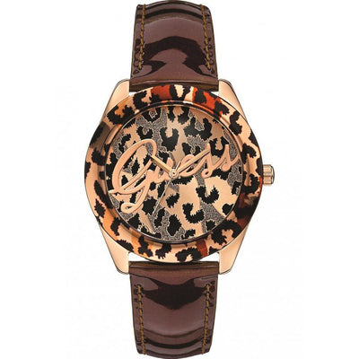 Guess Temptress for Women - Analog Leather Band Watch - W0455L3