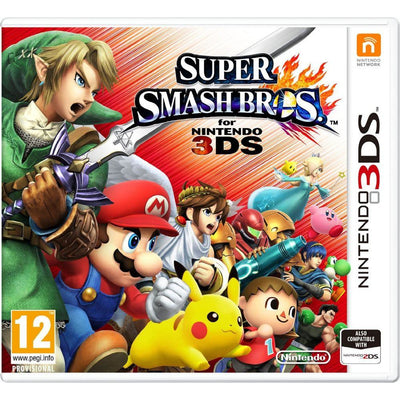 Super Smash Bros 3DS PAL