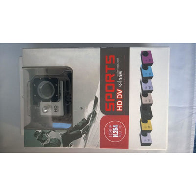 Action Camera 12MP Sports Cam 1080P Full HD DVR Diving 30M Waterproof  1.5