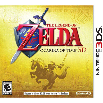 The Legend of Zelda Ocarina of Time 3D NTSC