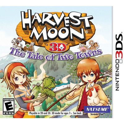 Harvest Moon Tale of Two Towns - Nintendo 3DS