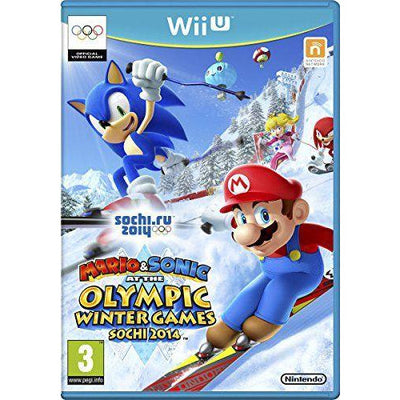 Mario Sonic at the Winter Olympic Games Sochi 2014 Nintendo Wii U PAL