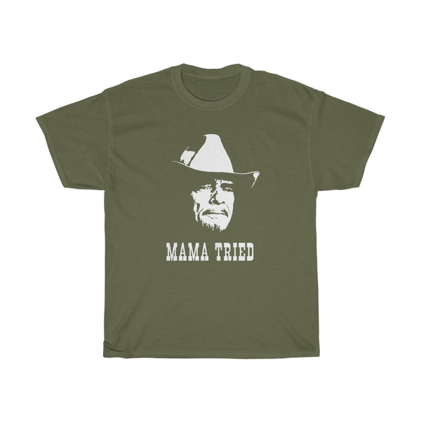 Merle Haggard Mama Tried  Country Music Legend T Shirt
