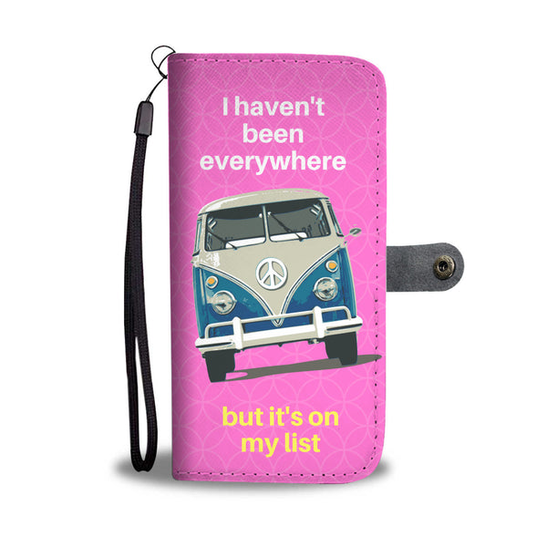 Cool Van Bus Art Wallet Phone Case