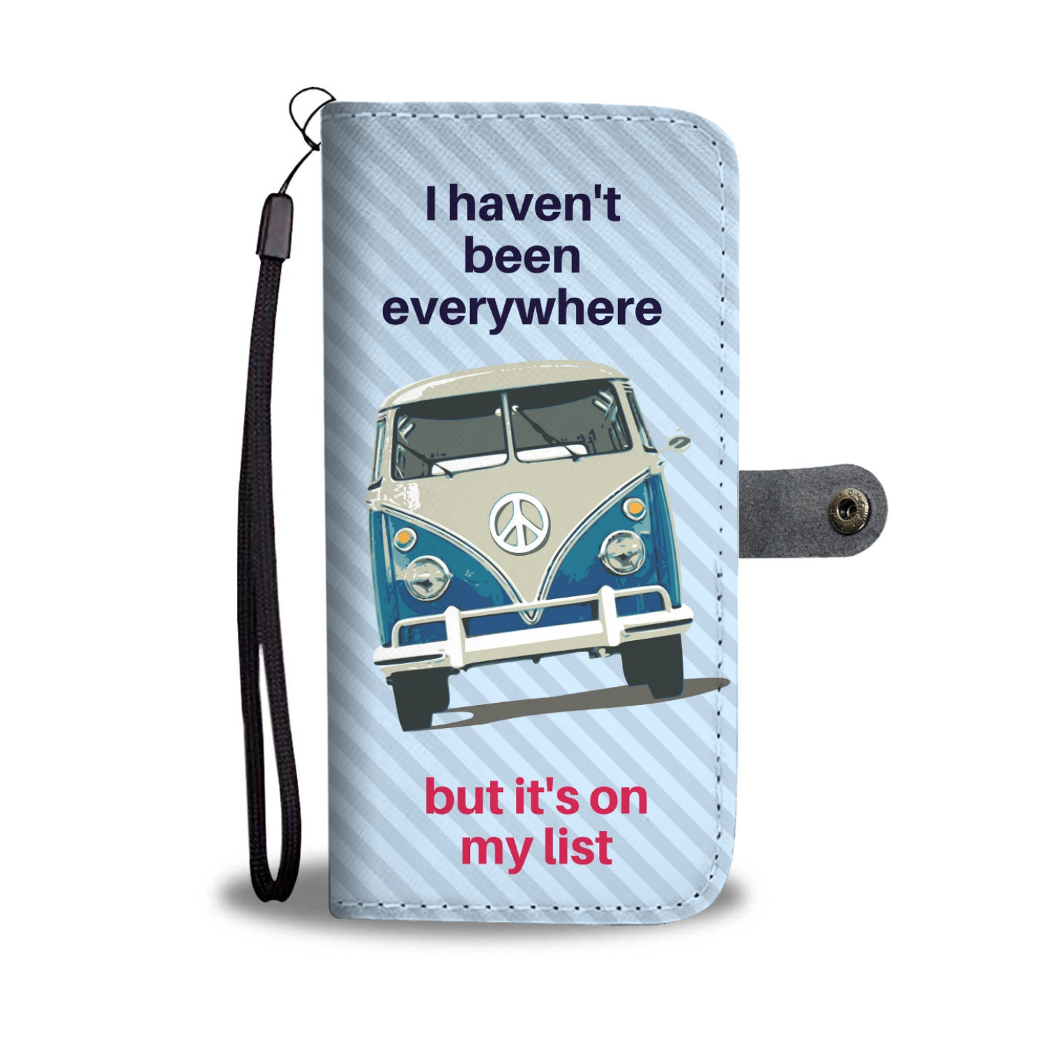 Awesome Combi Bus Art Wallet Phone Case