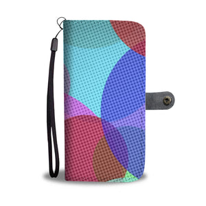 Color Wheels Wallet Phone Case