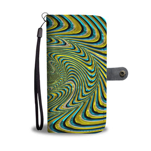 Swirling Color Wallet Phone Case