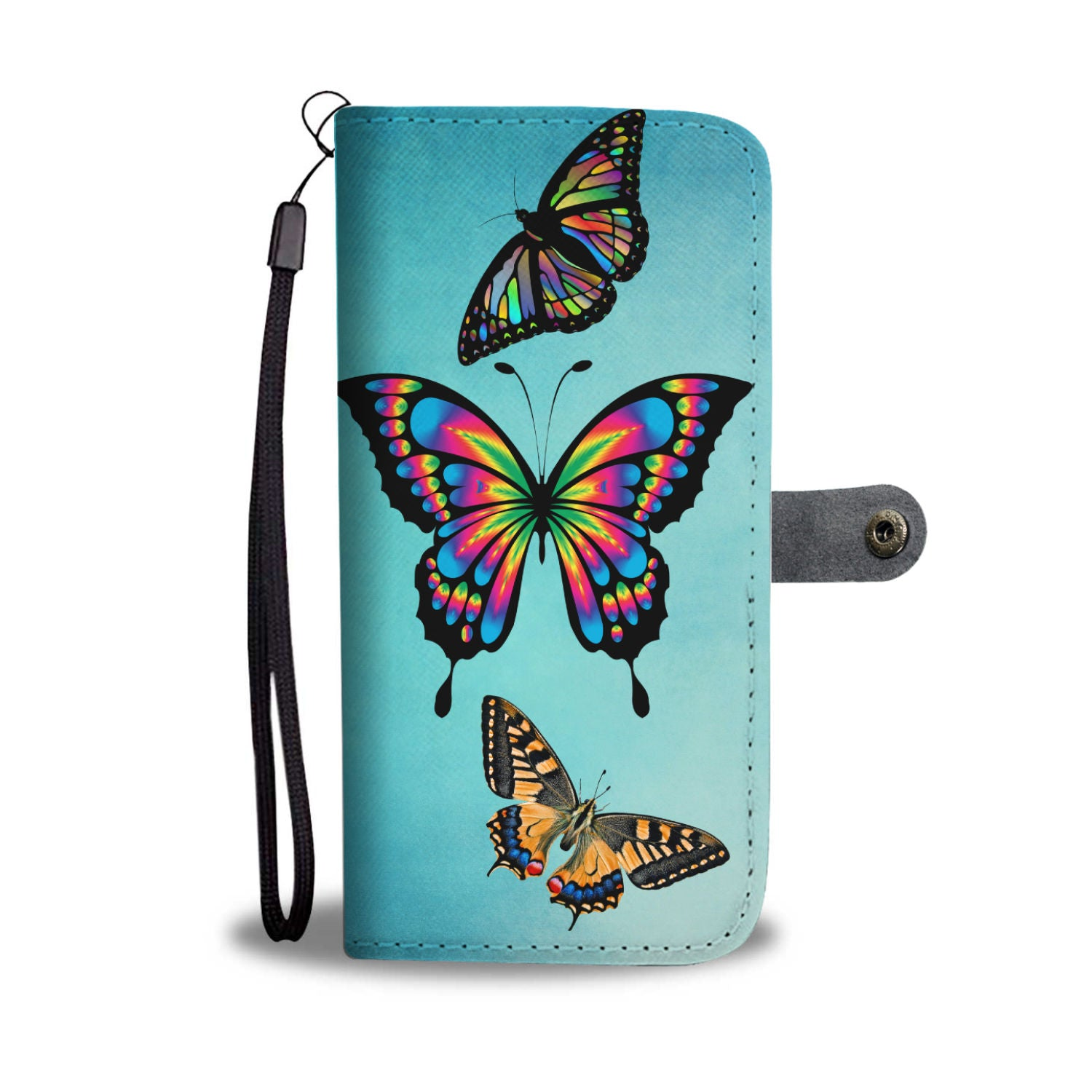 Butterfly Wallet Phone Case